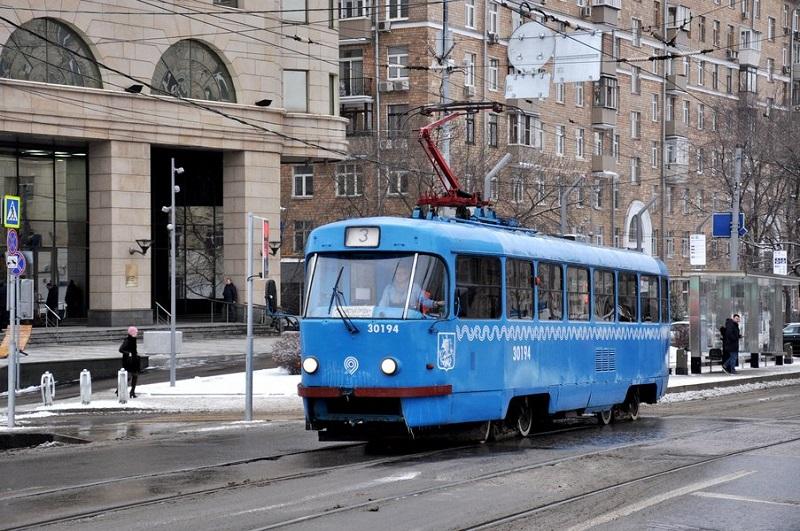 мосгортранс, трамваи, тактовое расписание