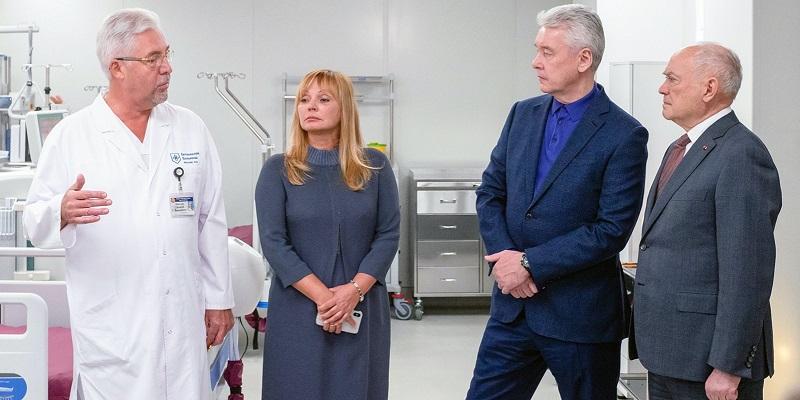 Боткинская больница, Анастасия Ракова, Онкологический диспансер, скорая помощь,