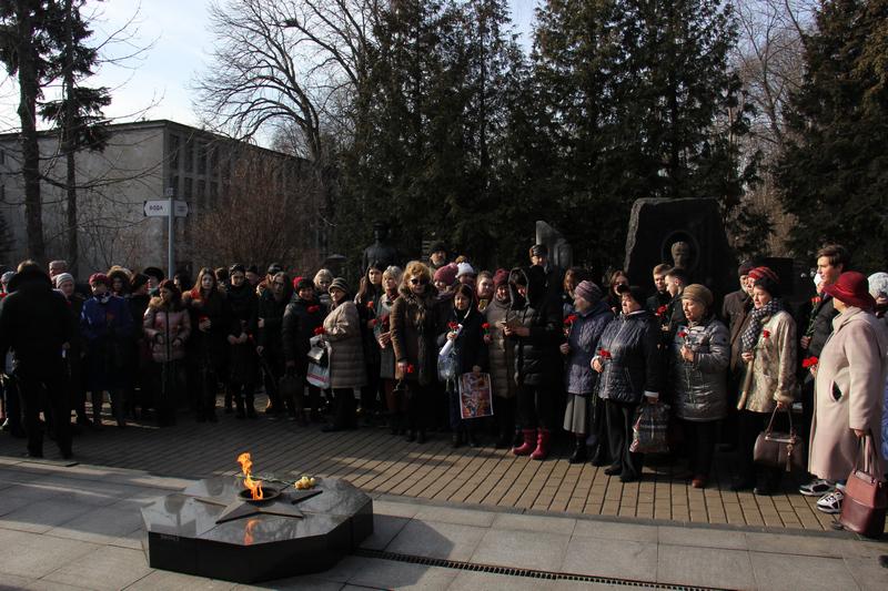 День защитника Отечества, Бауманская инженерная школа № 1580, школа 630, Александр Ткачук