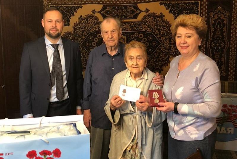 Дмитрий Соколов, 75-летие Великой Победы, ветераны, поздравление, управа района 7