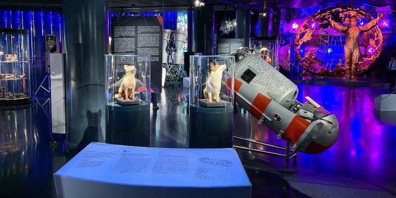 ВДНХ, День космонавтики