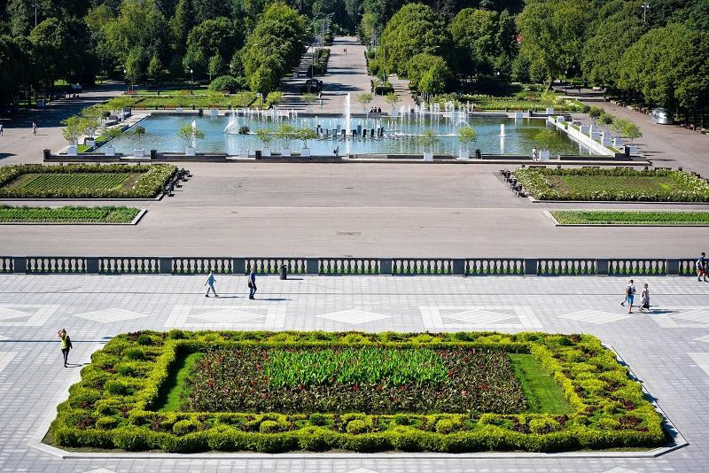 фонтан парк горького