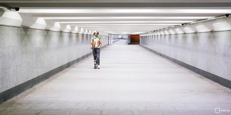 переход подземный пешеходный мос ру