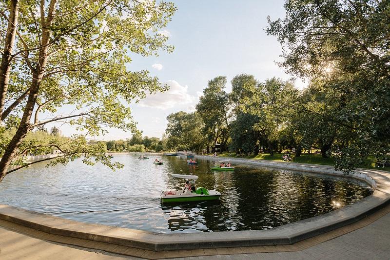пионерский-пруд парк горького вк