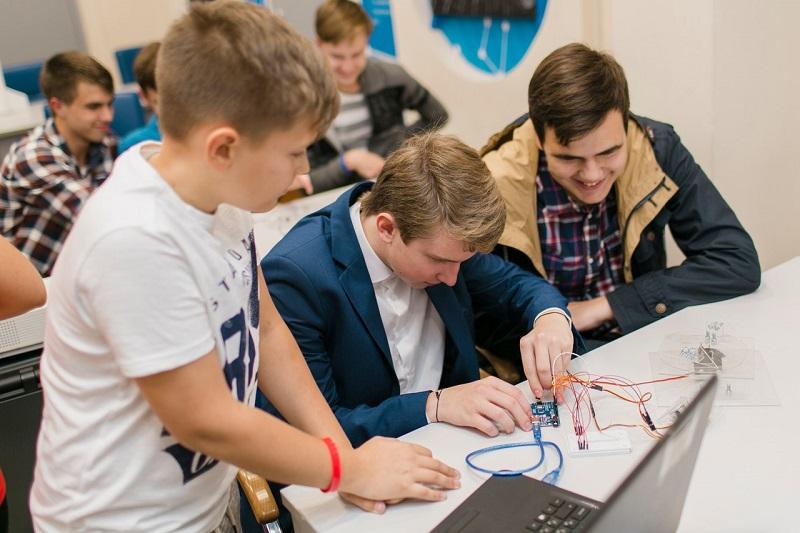 детский технопарк подростки