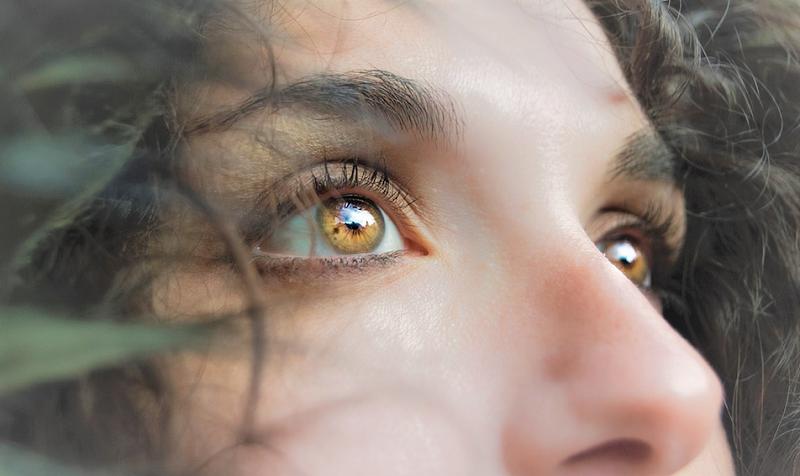 лицо девушка нос глаза пикс