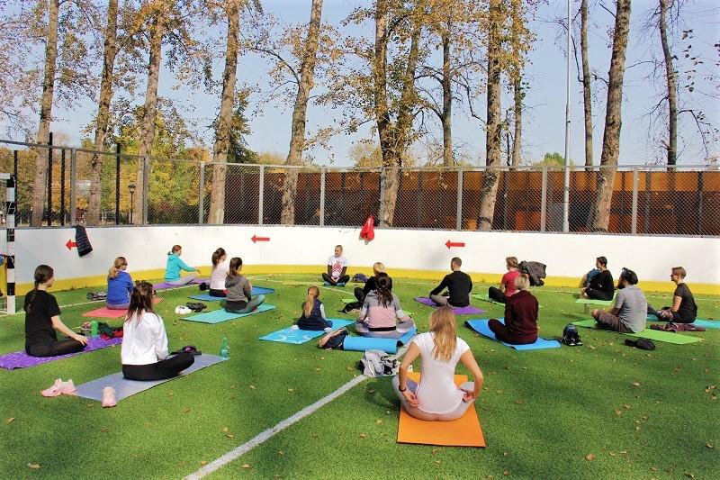 ДонРайонка йога фитнес спорт
