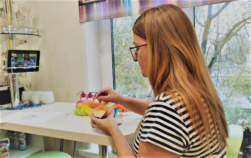 мастре-класс по валянию из шерсти берегиня творчество рукоделие