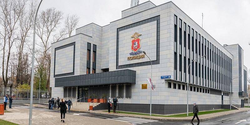 полиция увд здание мос ру